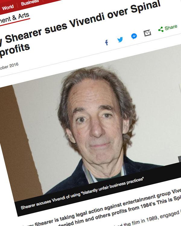 Fairness Rocks News Harry Shearer sues Vivendi over Spinal Tap profits
