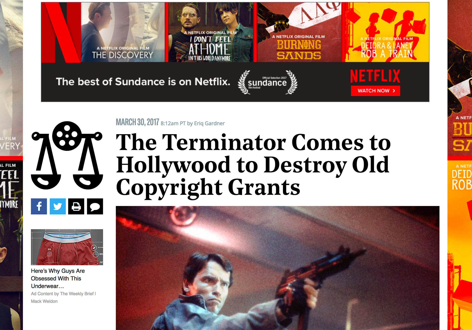 Fairness Rocks News The Terminator Comes to Hollywood to Destroy Old Copyright Grants