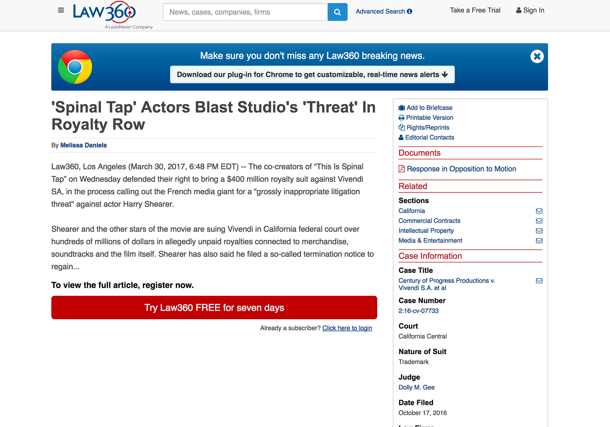 Fairness Rocks News 'Spinal Tap' Actors Blast Studio's 'Threat' In Royalty Row