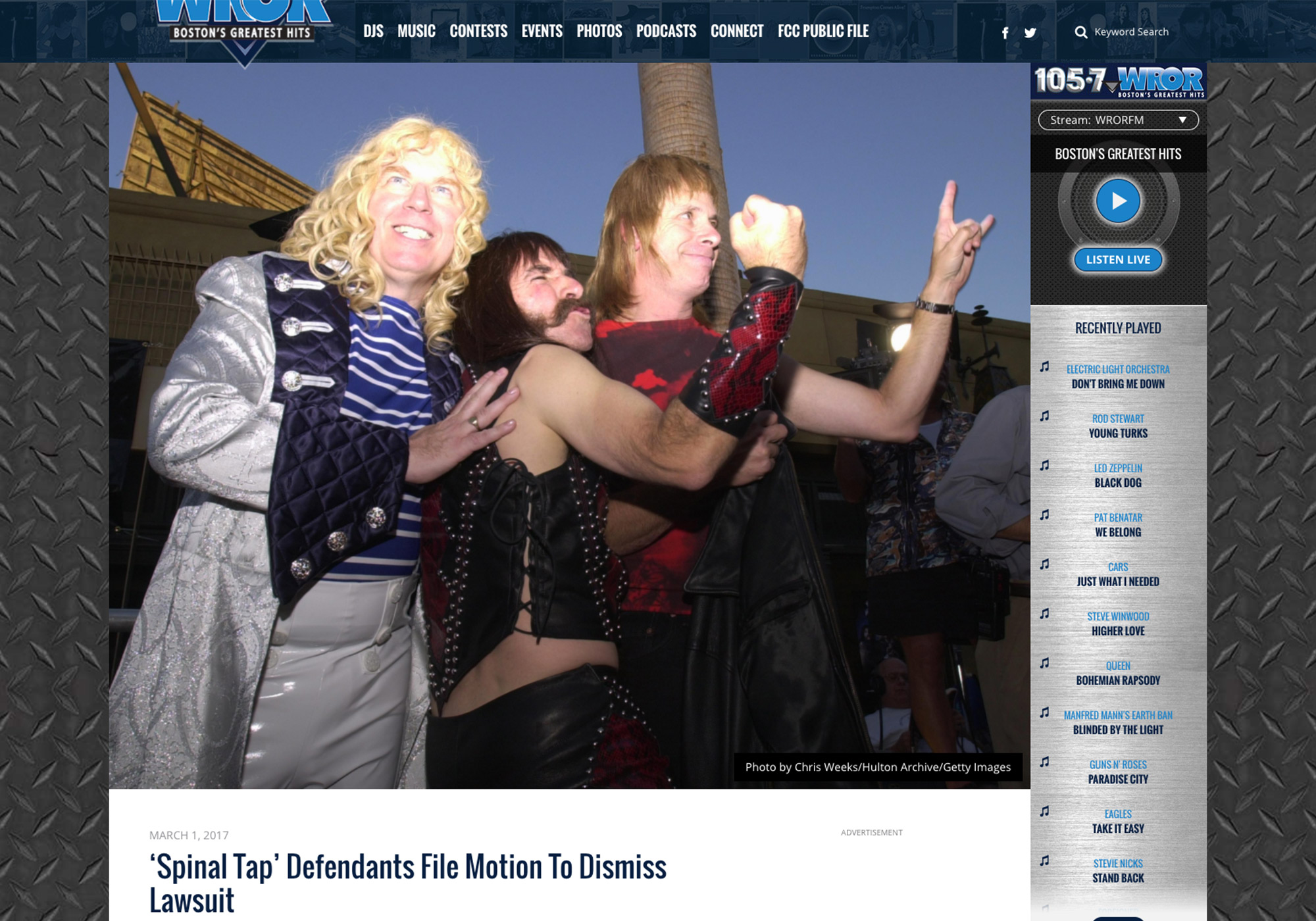 Fairness Rocks News 'Spinal Tap' Defendants File Motion To Dismiss Lawsuit