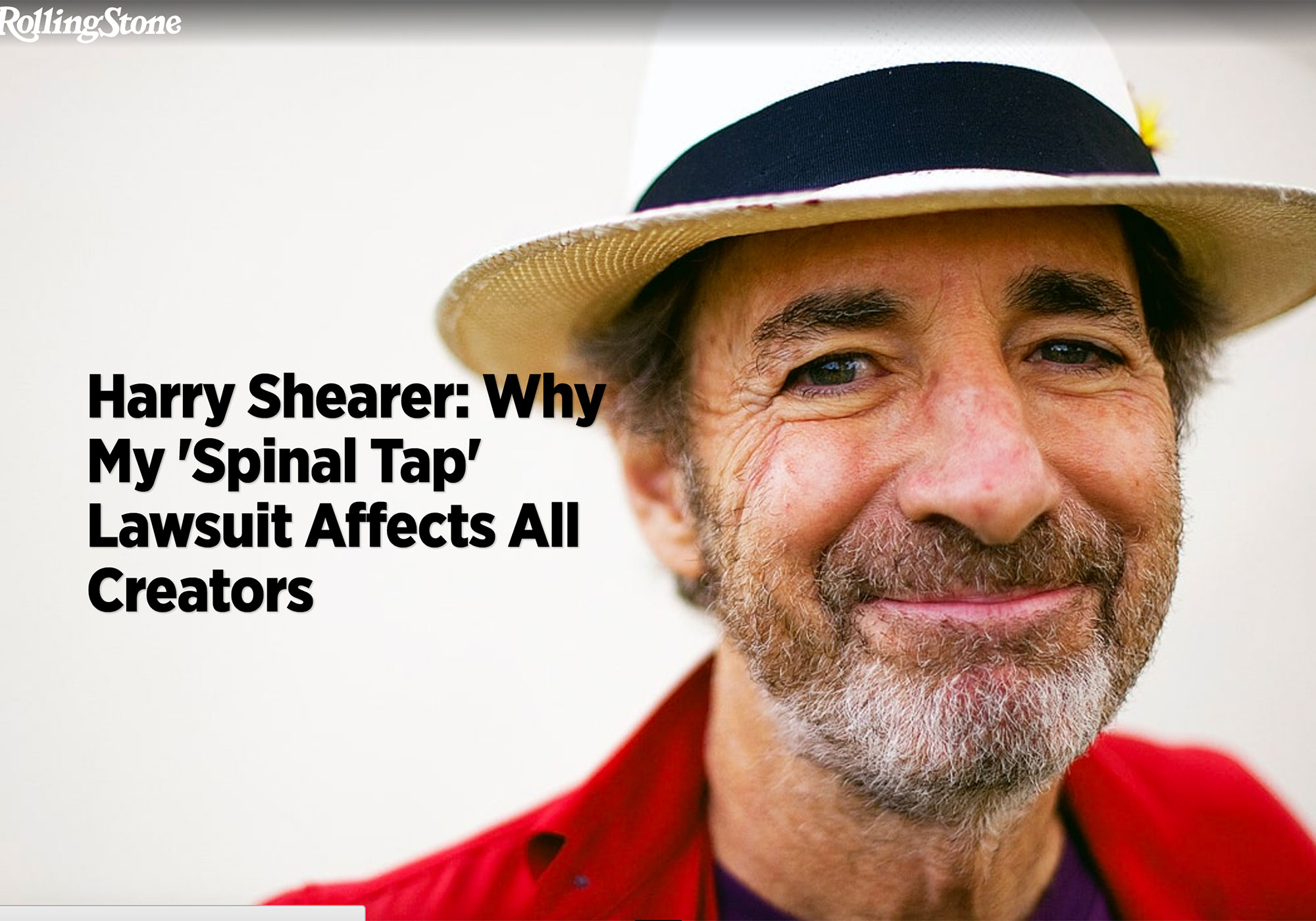 Fairness Rocks News Harry Shearer: Why My 'Spinal Tap' Lawsuit Affects All Creators