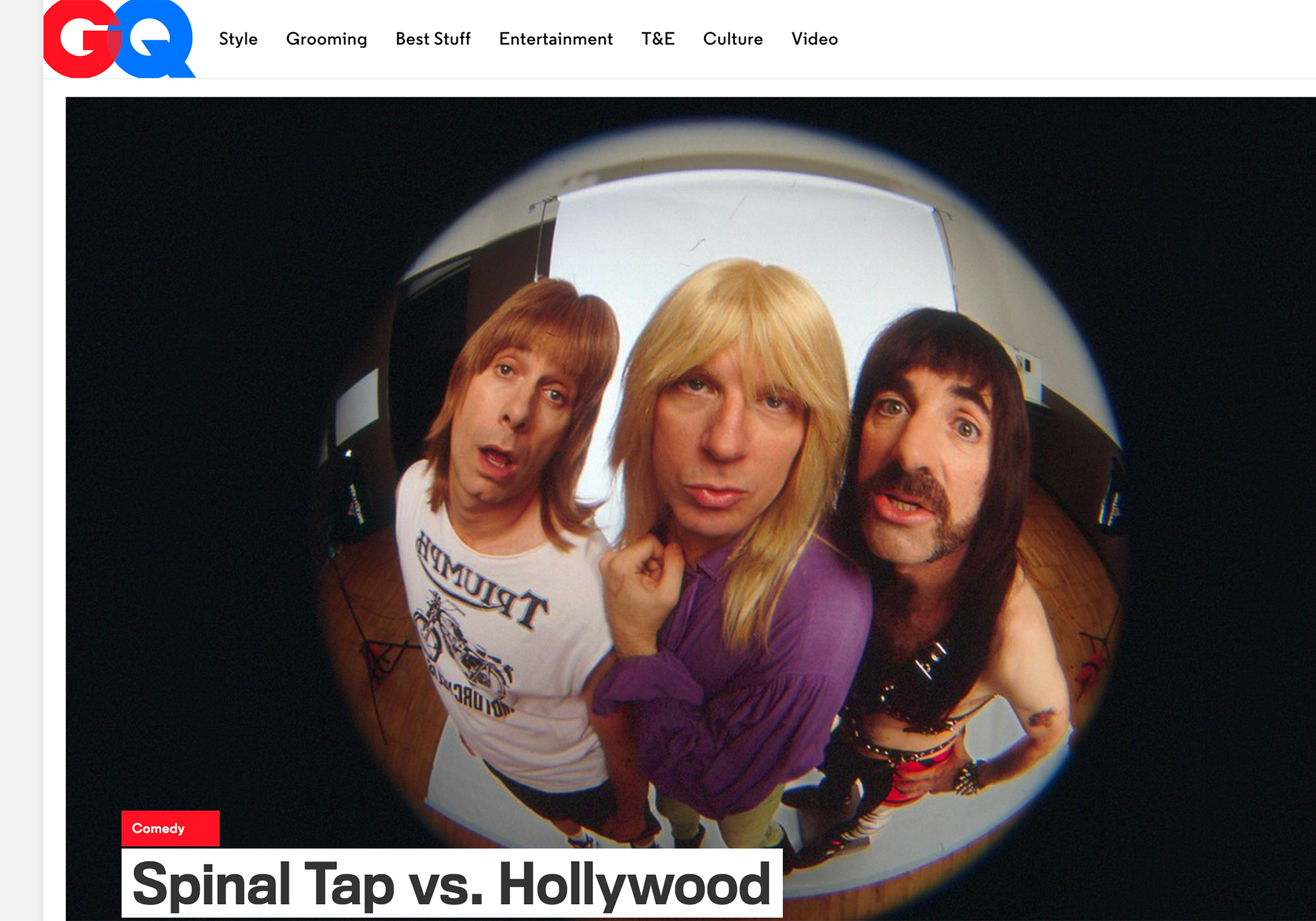 Fairness Rocks News Spinal Tap vs. Hollywood