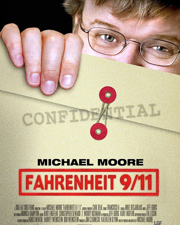 Fairness Rocks News Michael Moore and Harvey Weinstein settle Fahrenheit 9/11 dispute