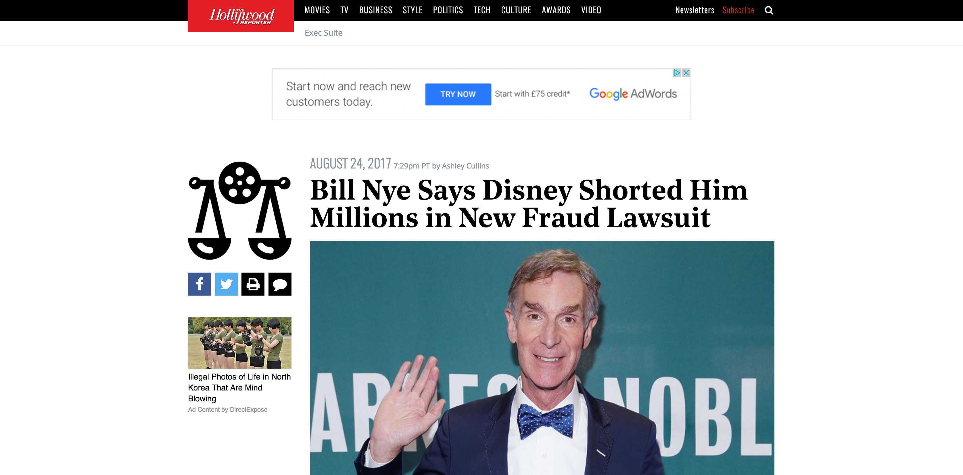 Fairness Rocks News Bill Nye Says Disney Shorted Him Millions in New Fraud Lawsuit