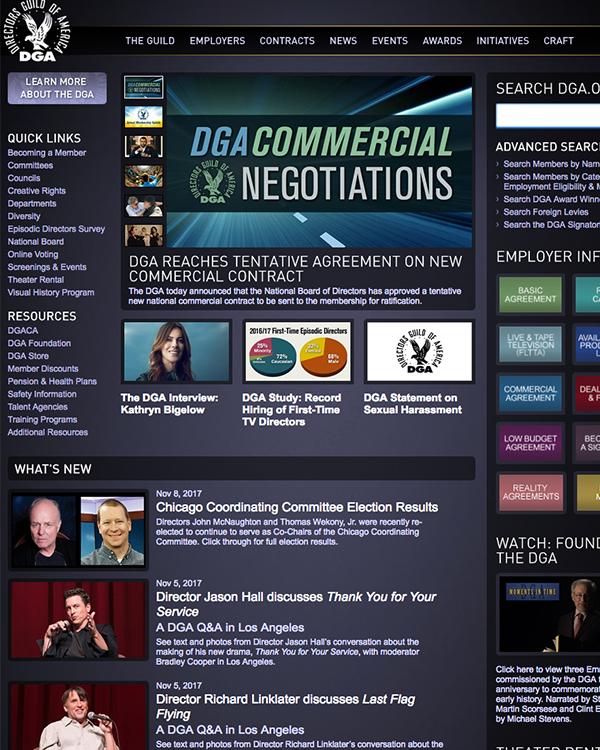 Fairness Rocks News Residuals – courtesy of Directors' Guild of America