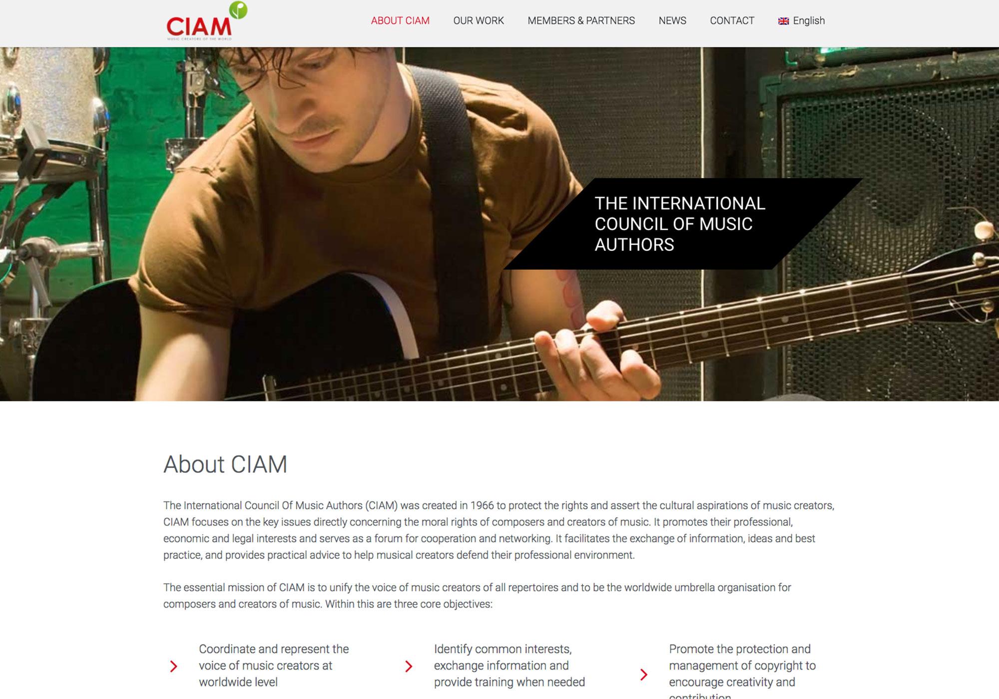 Fairness Rocks News International Council of Music Authors (CIAM)