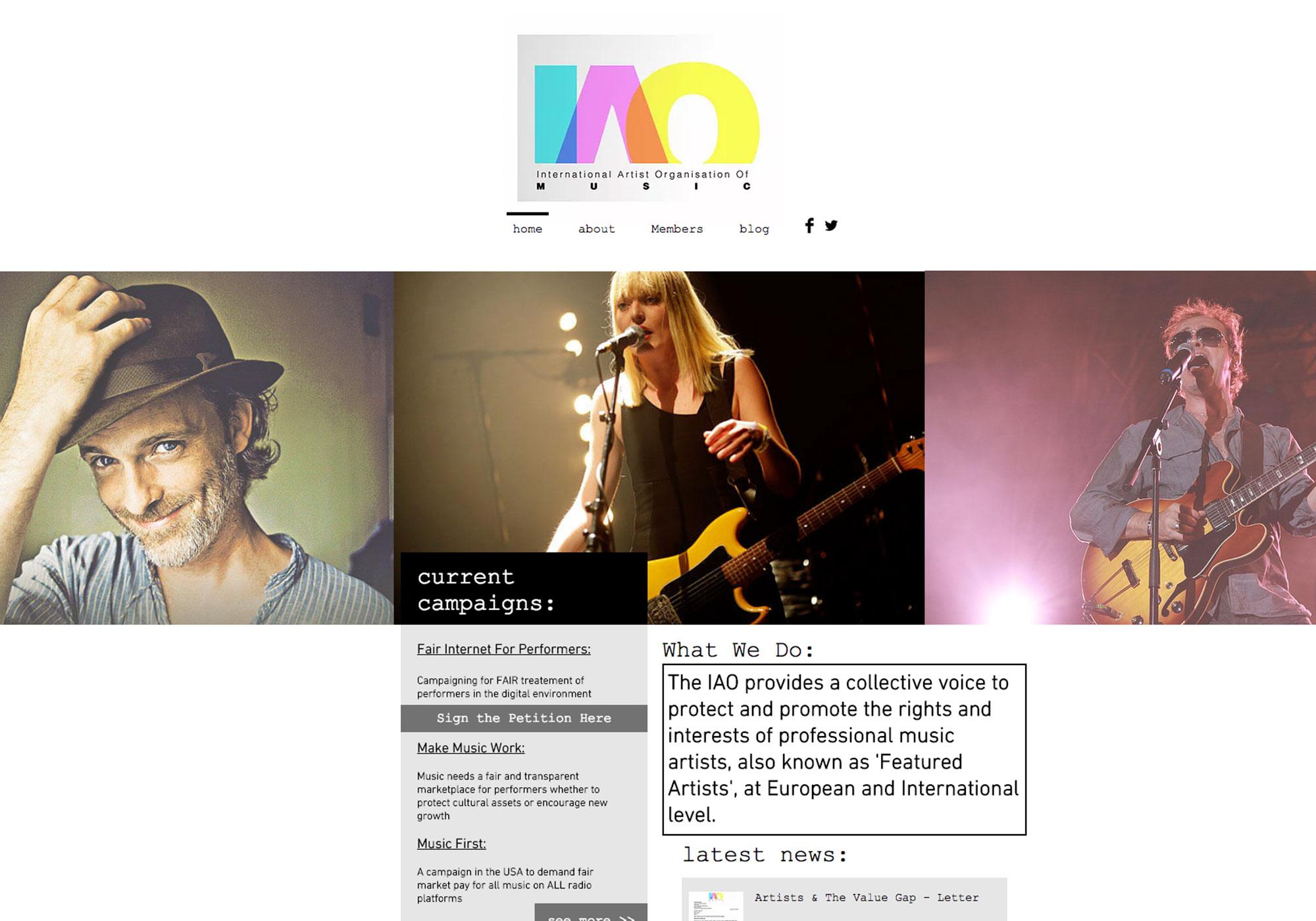 Fairness Rocks News International Artists' Organisation