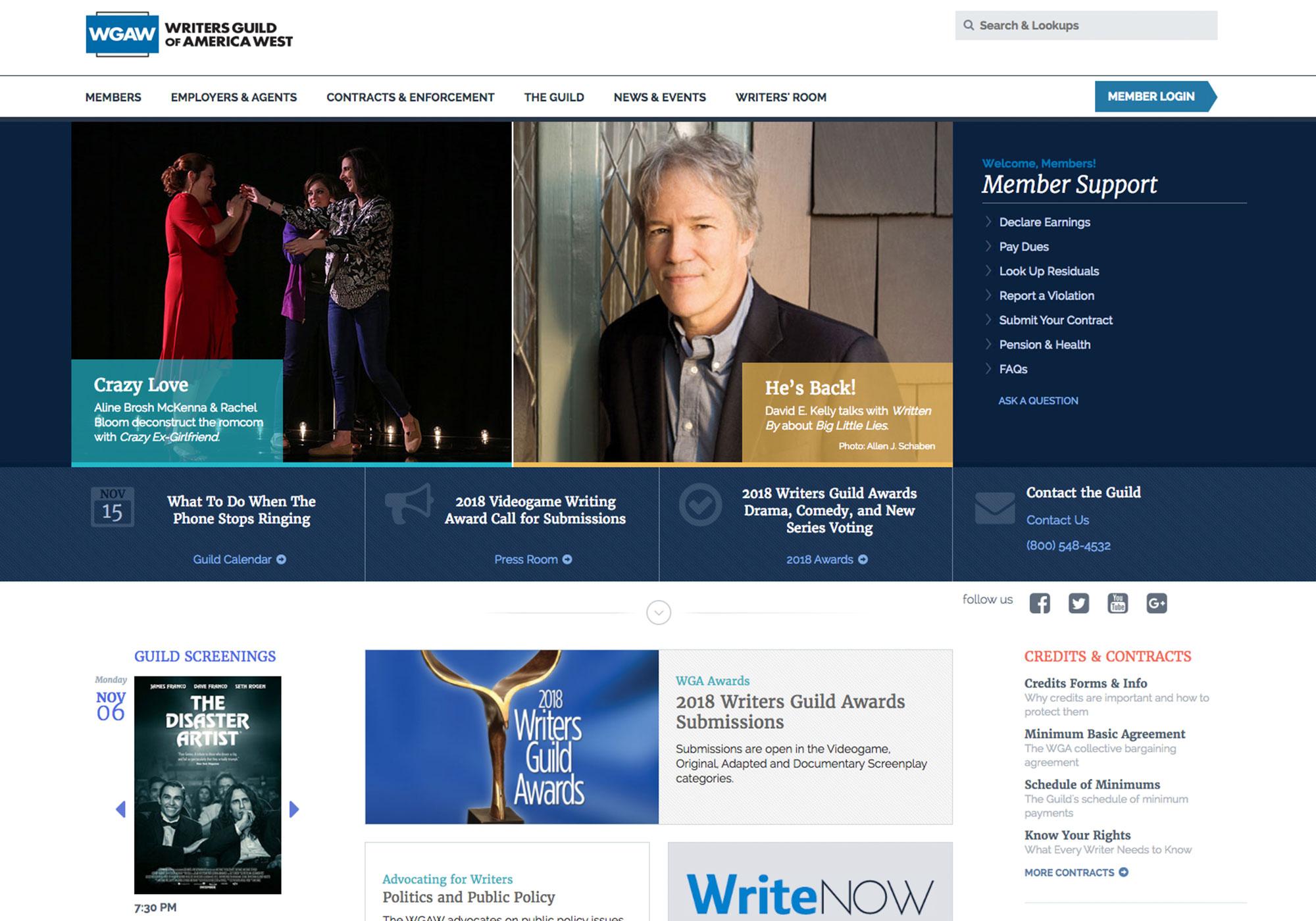 Fairness Rocks News Writers Guild of America West (WGAW)