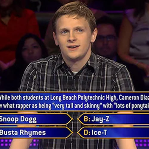 Fairness Rocks Shocking Talent Fighting Back Who wants to be a millionaire