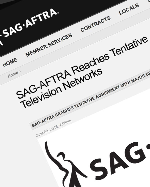 Fairness Rocks News SAG-AFTRA Reaches Tentative Agreement with Major Broadcast Television Networks
