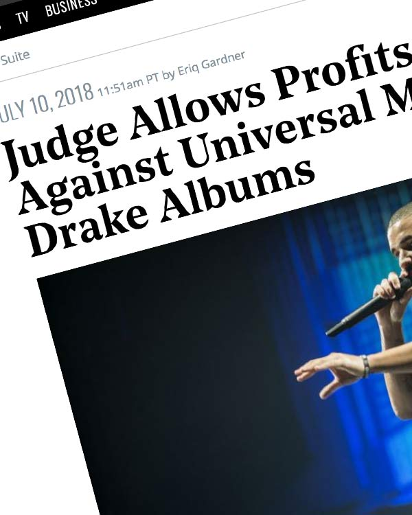 Fairness Rocks News Judge Allows Profits Lawsuit Against Universal Music Over Drake Albums