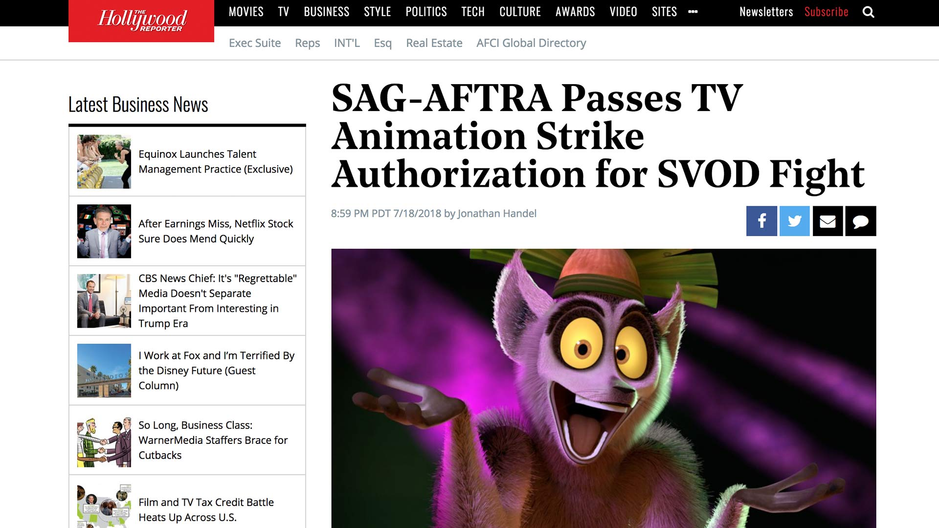 Fairness Rocks News SAG-AFTRA Passes TV Animation Strike Authorization for SVOD Fight