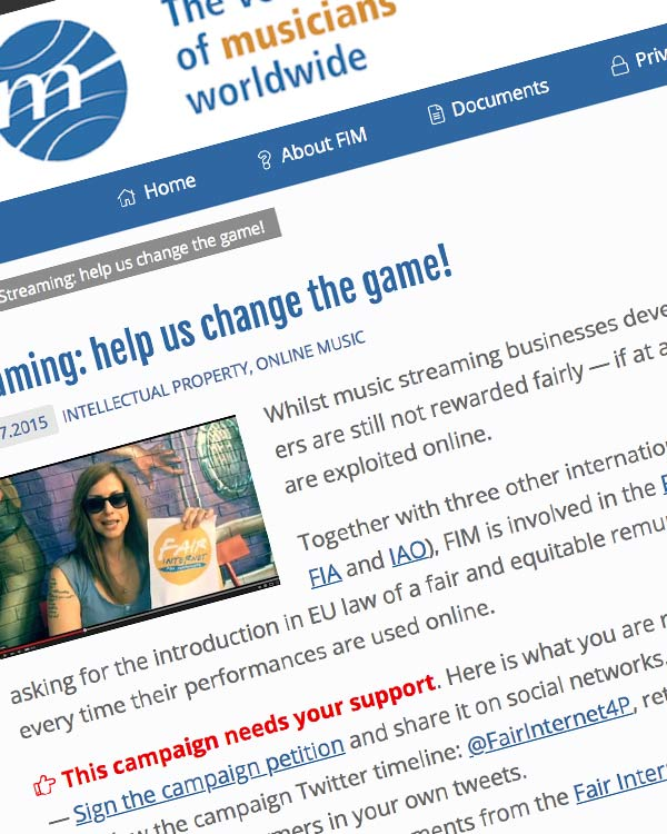 Fairness Rocks News Streaming: help us change the game!