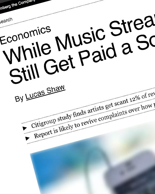 Fairness Rocks News While Music Streaming Sales Surge, Singers Still Get Paid a Song