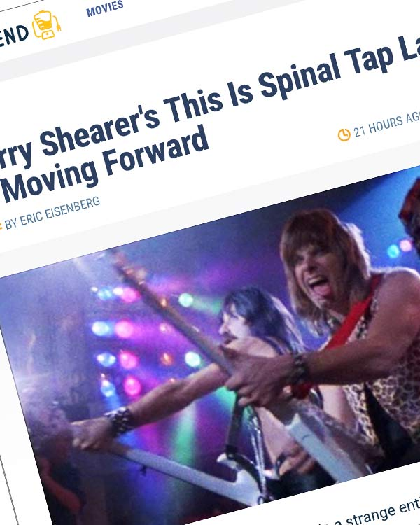 Fairness Rocks News Harry Shearer's This Is Spinal Tap Lawsuit Is Moving Forward