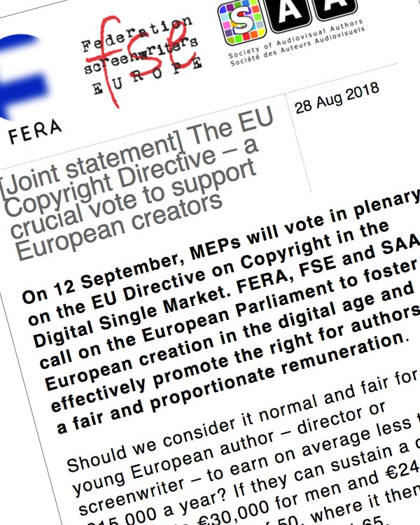 Fairness Rocks News The EU Copyright Directive – a crucial vote to support European creators