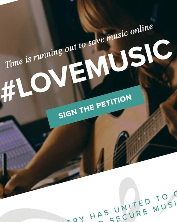 Fairness Rocks News THE UK MUSIC INDUSTRY HAS UNITED TO CALL ON EU MEMBERS OF PARLIAMENT TO SECURE MUSIC'S FUTURE