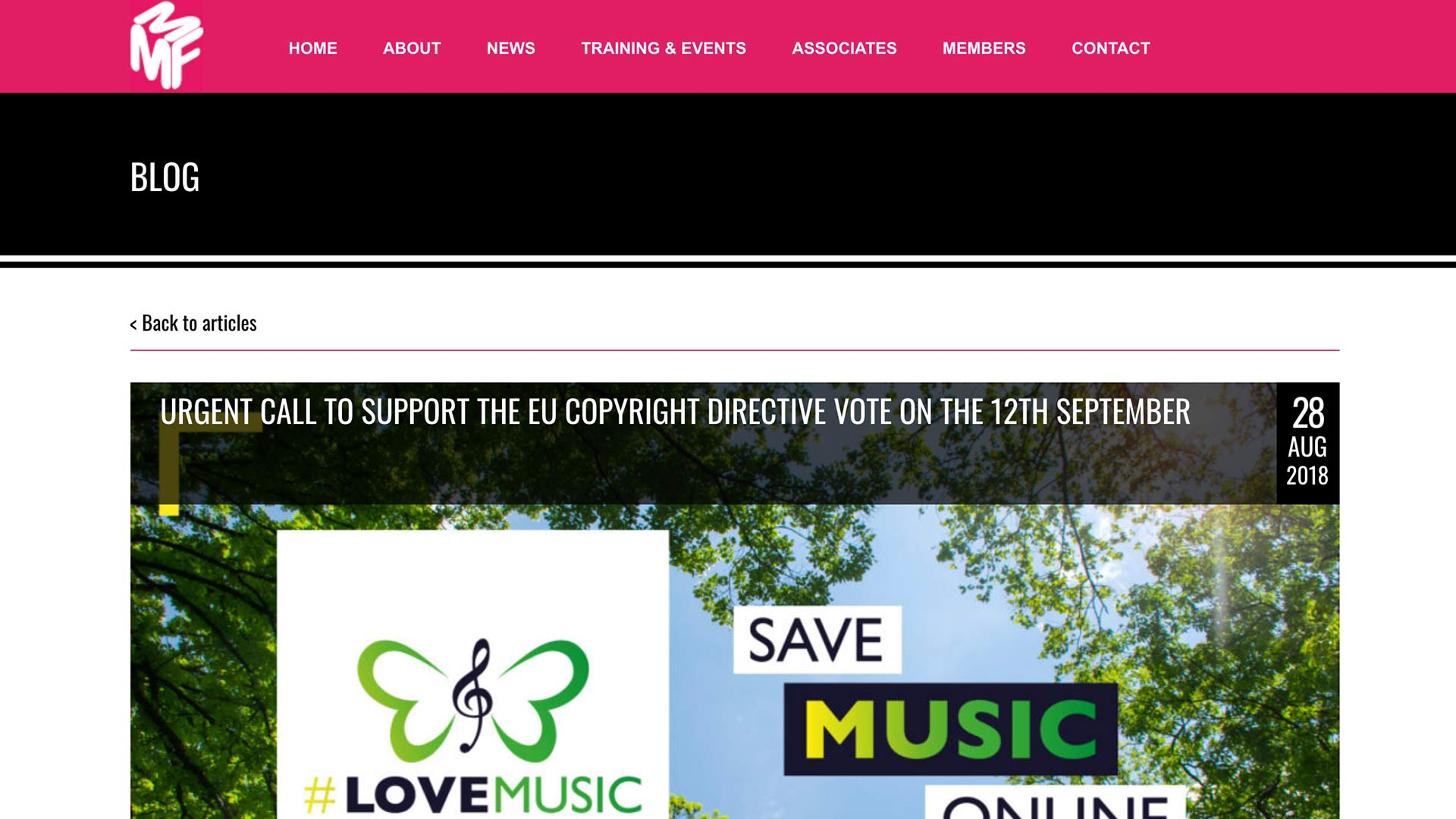 Fairness Rocks News URGENT CALL TO SUPPORT THE EU COPYRIGHT DIRECTIVE VOTE ON THE 12TH SEPTEMBER