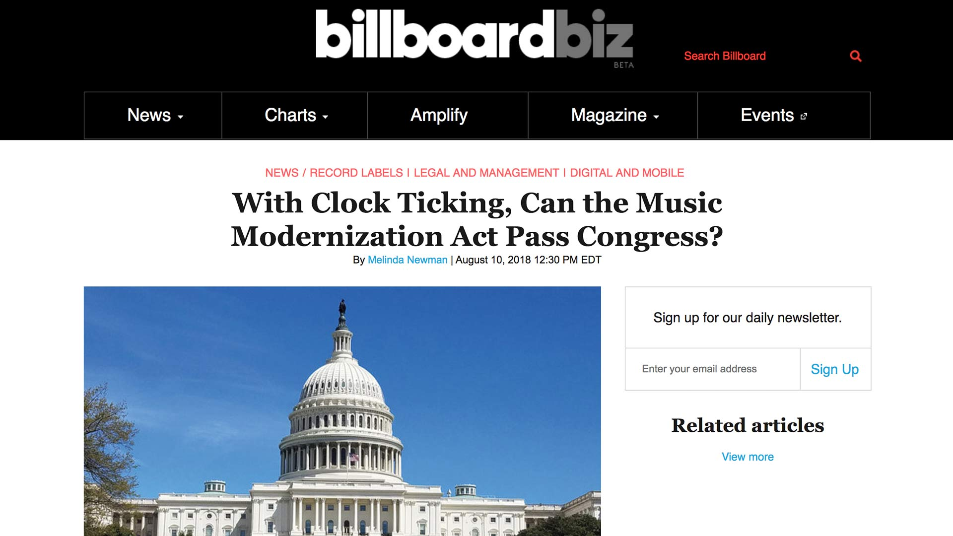 Fairness Rocks News With Clock Ticking, Can the Music Modernization Act Pass Congress?