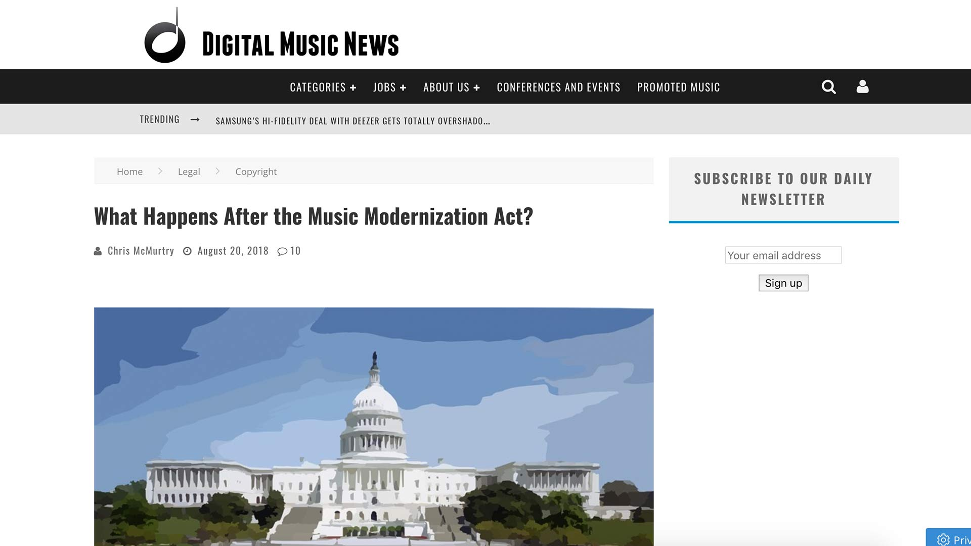 Fairness Rocks News What Happens After the Music Modernization Act?