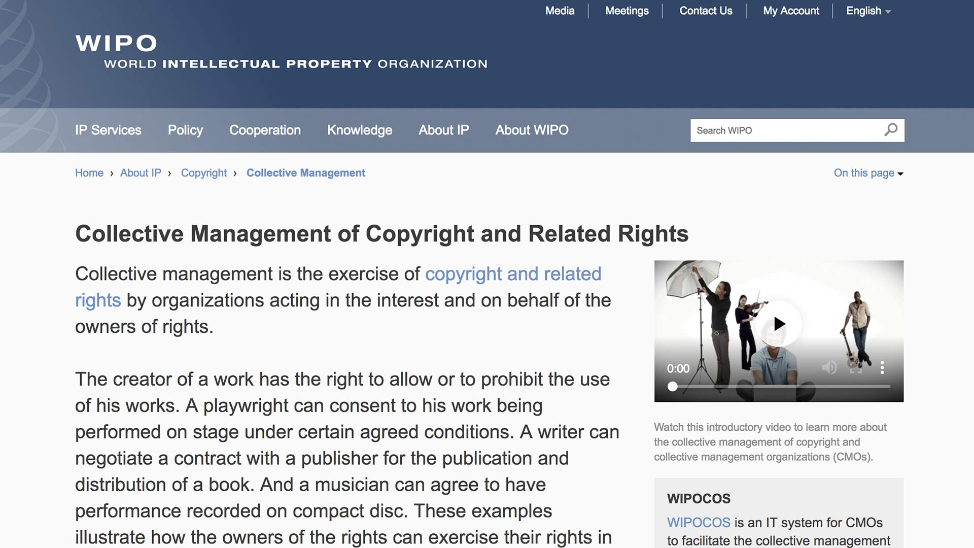 Fairness Rocks News Collective Management of Copyright and Related Rights