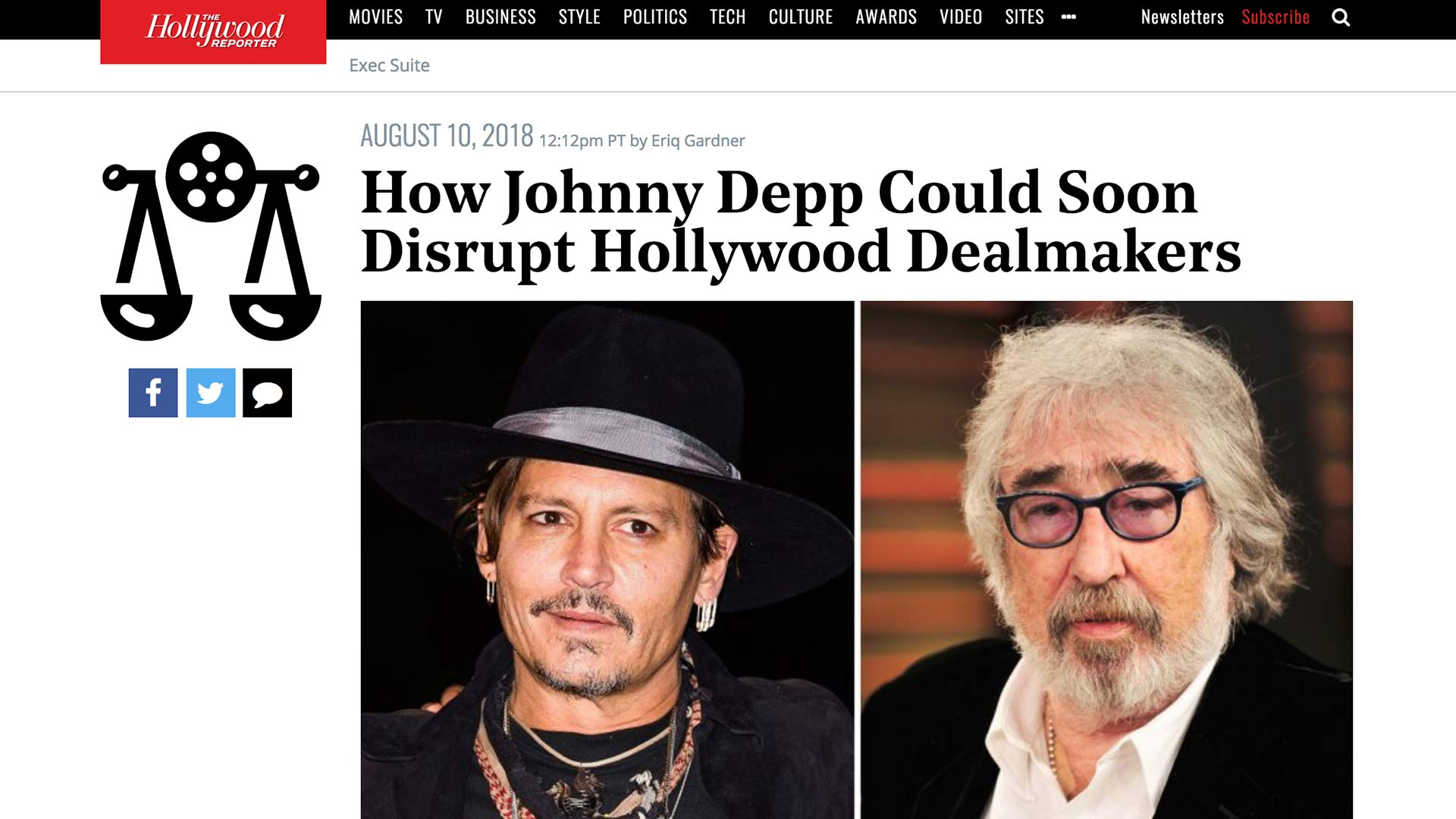 Fairness Rocks News How Johnny Depp Could Soon Disrupt Hollywood Dealmakers