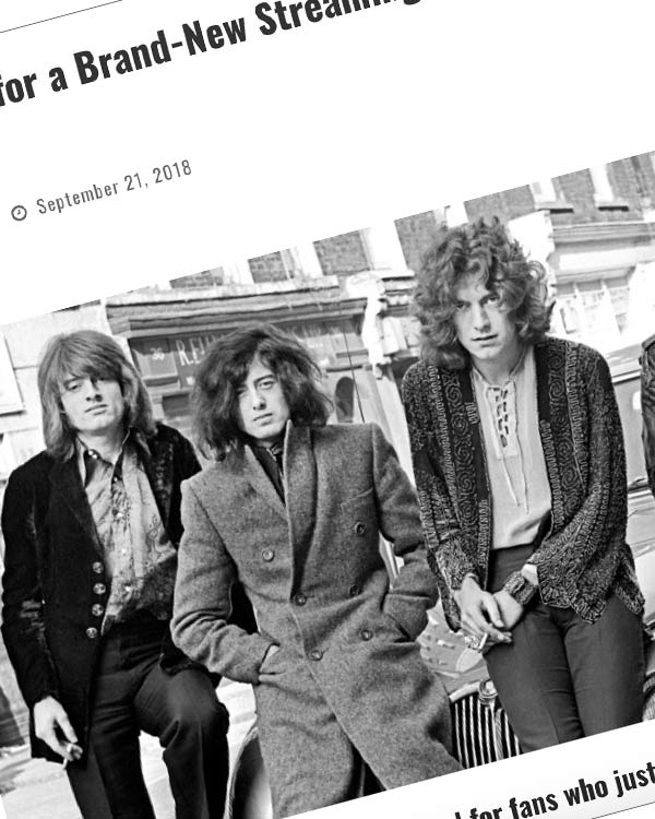 Fairness Rocks News Get Ready for a Brand-New Streaming Music Service from Led Zeppelin