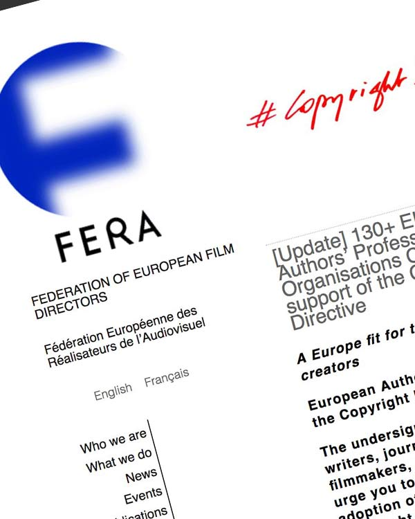 Fairness Rocks News 130+ EU Authors' Professional Organisations Call in support of the Copyright Directive