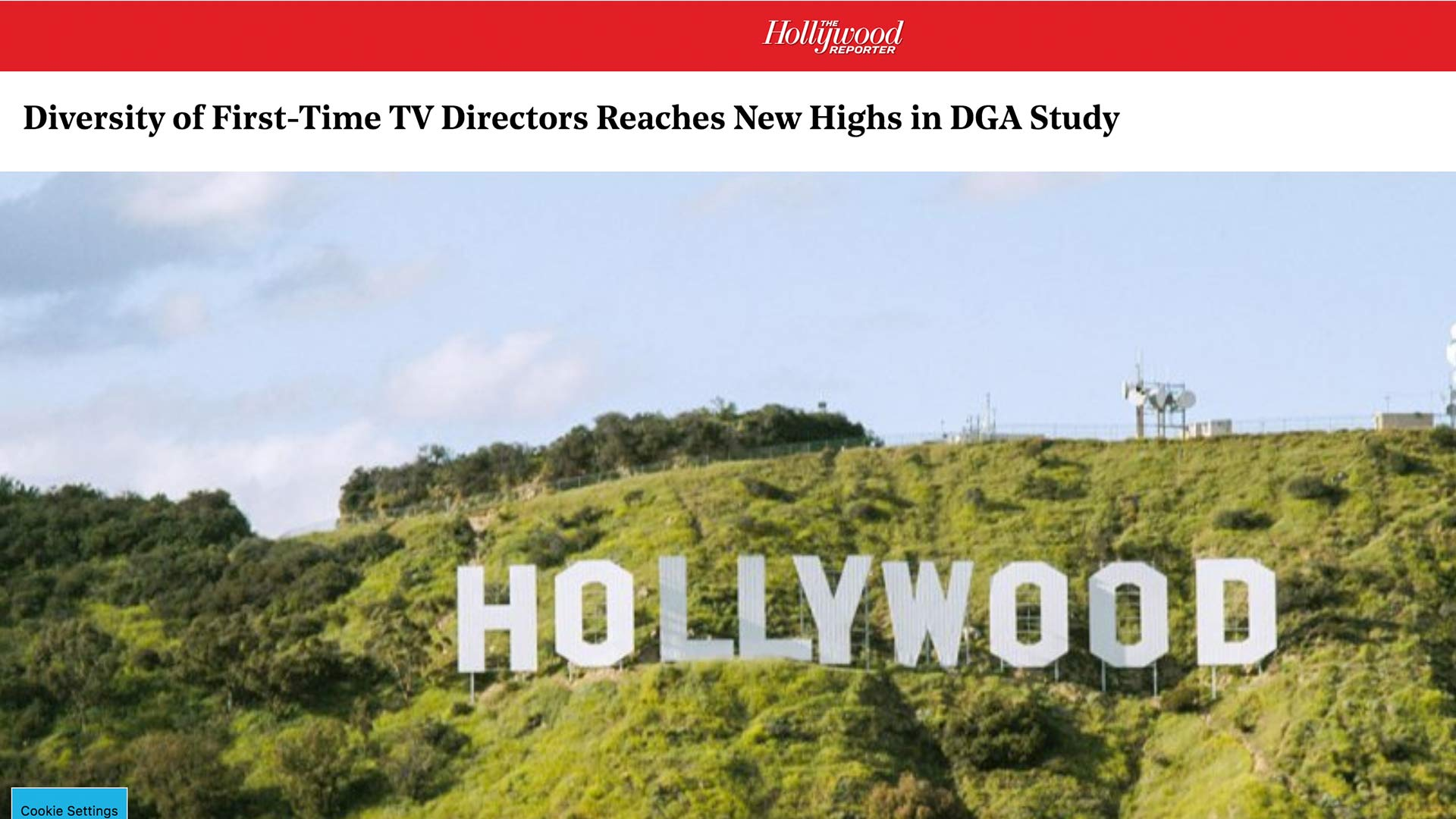 Fairness Rocks News Diversity of First-Time TV Directors Reaches New Highs in DGA Study