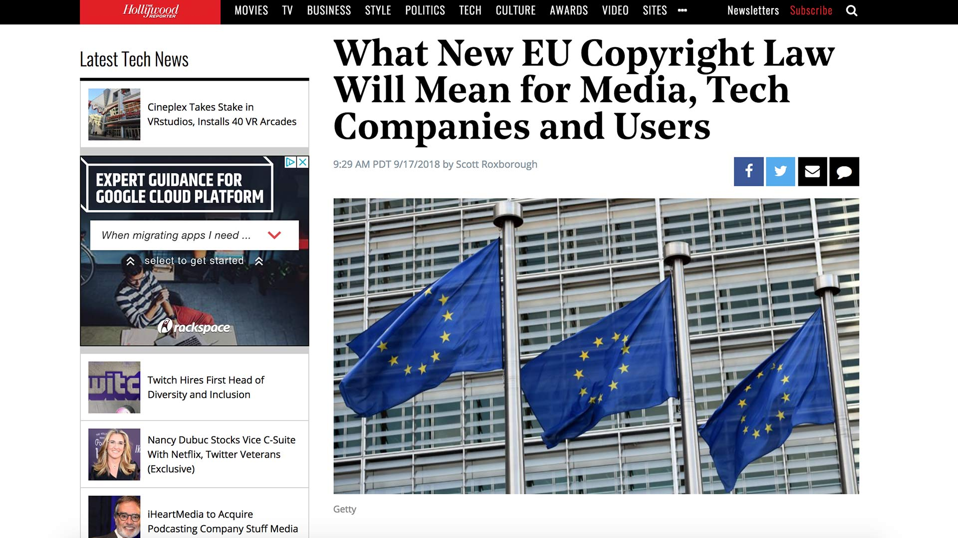 Fairness Rocks News What New EU Copyright Law Will Mean for Media, Tech Companies and Users