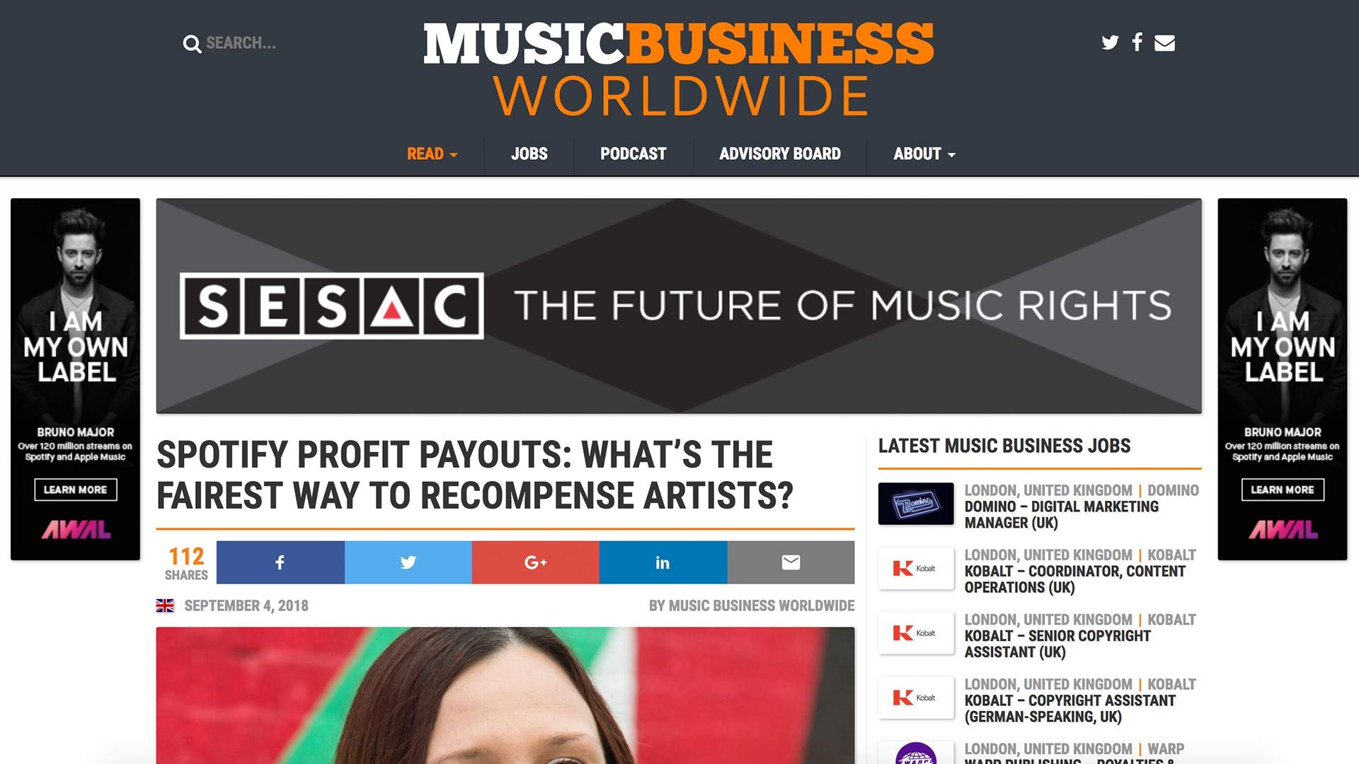 Fairness Rocks News SPOTIFY PROFIT PAYOUTS: WHAT'S THE FAIREST WAY TO RECOMPENSE ARTISTS?