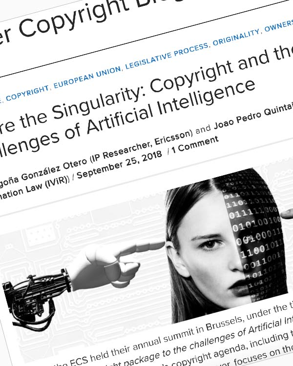 Fairness Rocks News Before the Singularity: Copyright and the Challenges of Artificial Intelligence