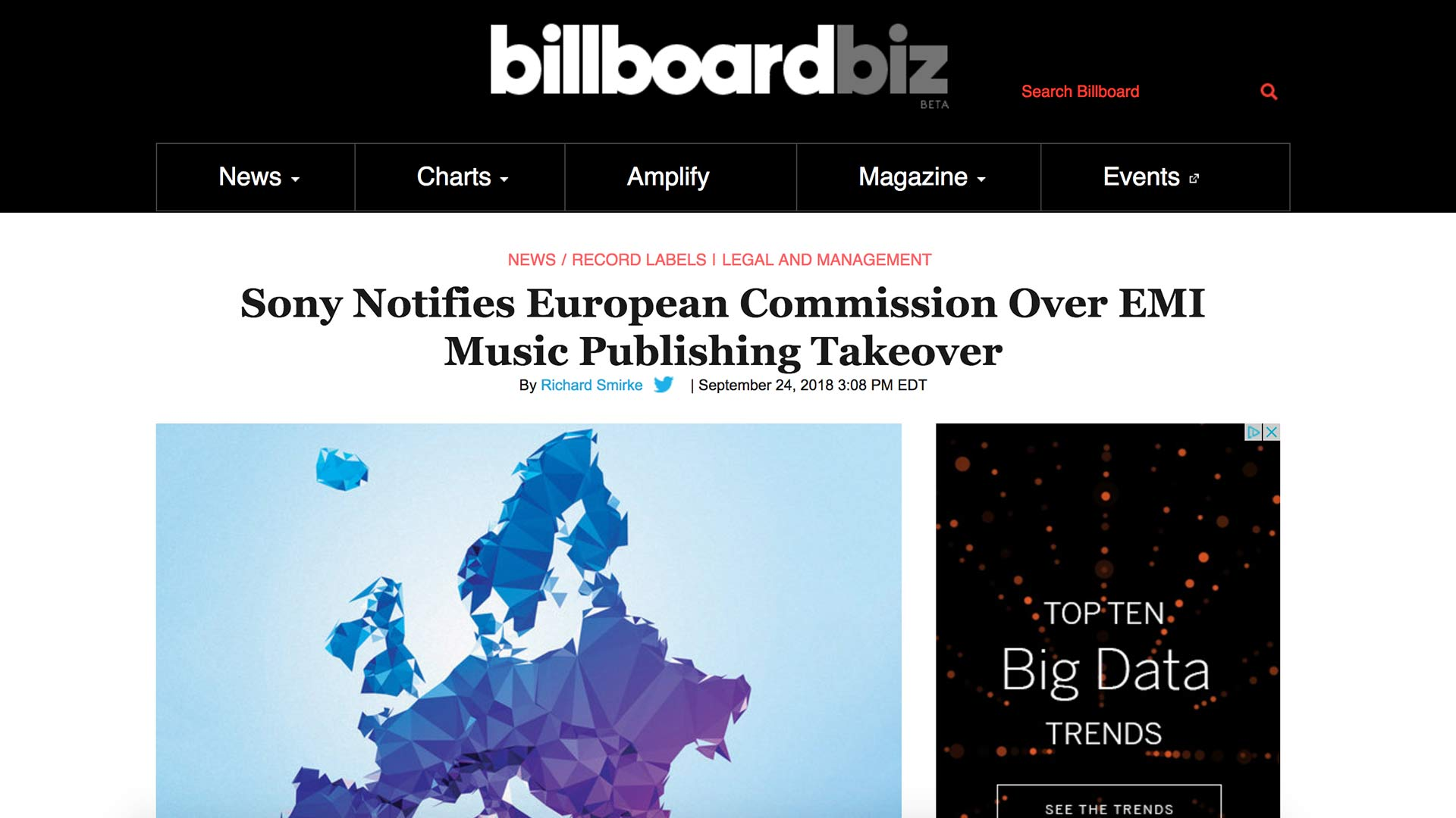 Fairness Rocks News Sony Notifies European Commission Over EMI Music Publishing Takeover