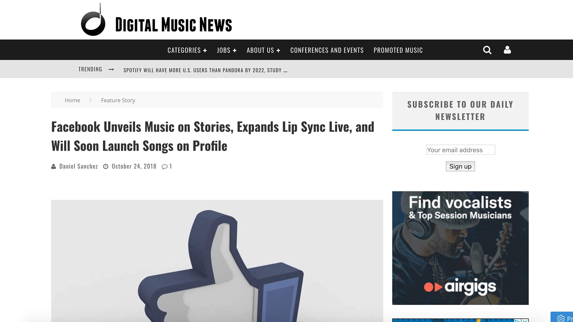 Fairness Rocks News Facebook Unveils Music on Stories, Expands Lip Sync Live, and Will Soon Launch Songs on Profile