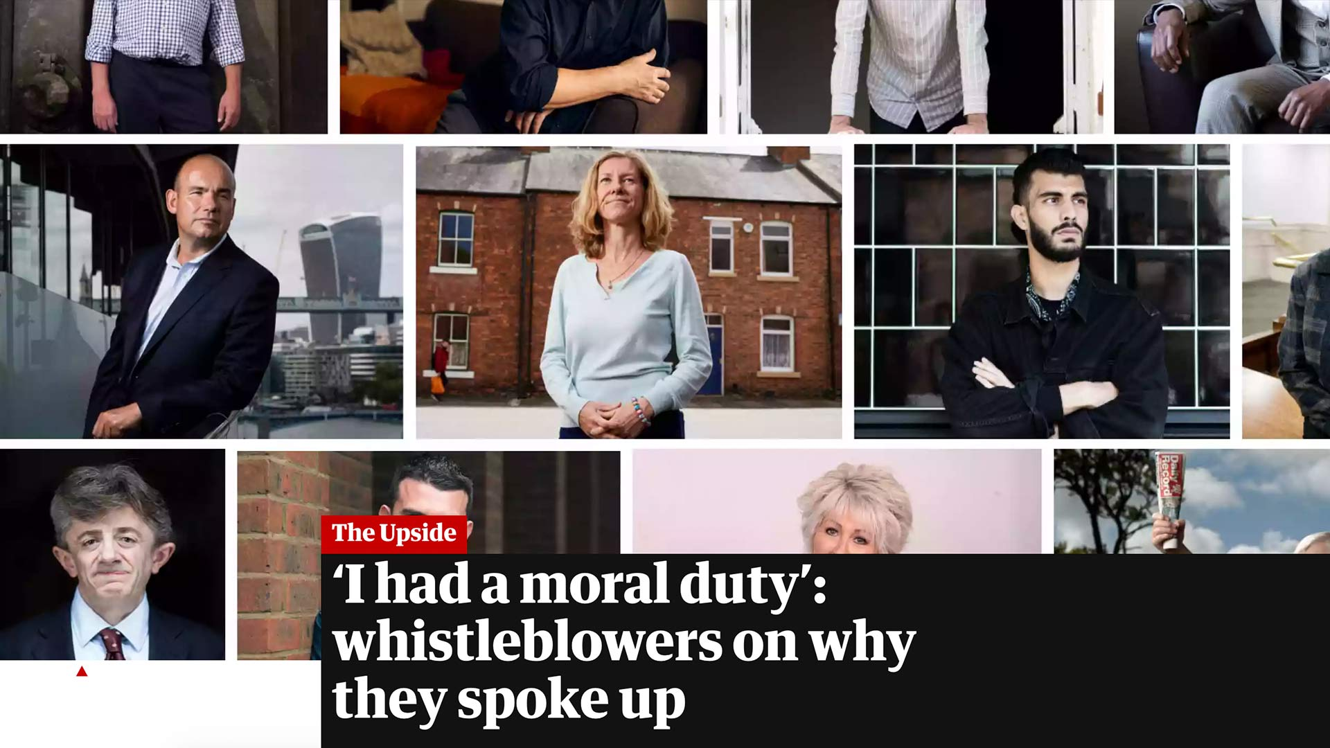Fairness Rocks News 'I had a moral duty': whistleblowers on why they spoke up