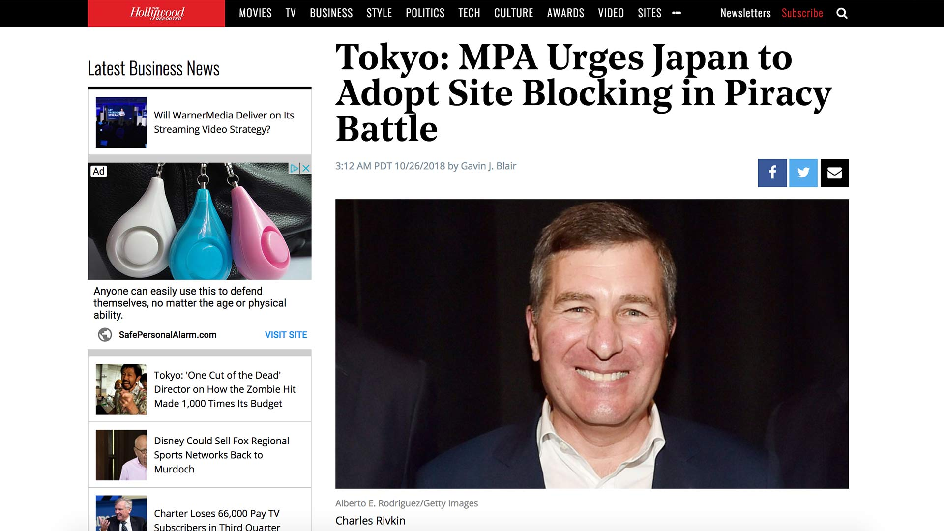 Fairness Rocks News Tokyo: MPA Urges Japan to Adopt Site Blocking in Piracy Battle