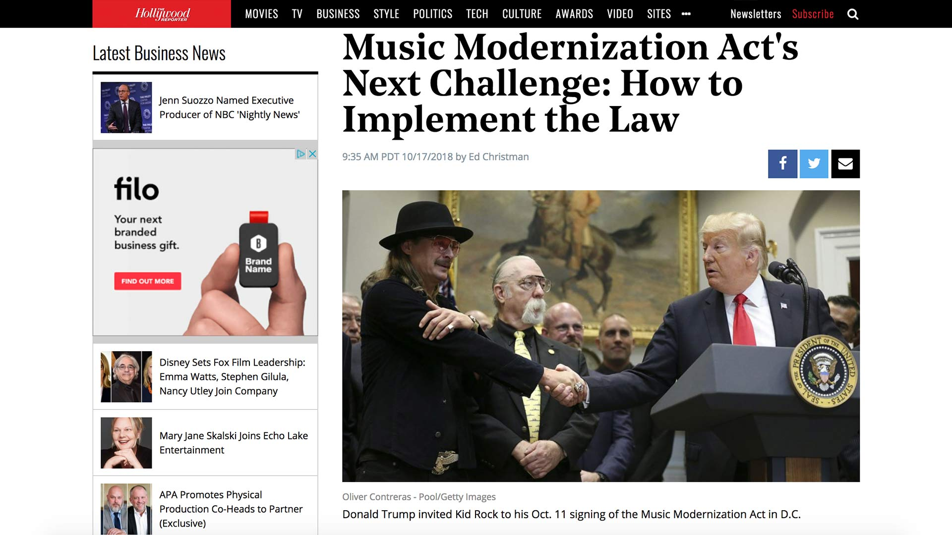 Fairness Rocks News Music Modernization Act's Next Challenge: How to Implement the Law