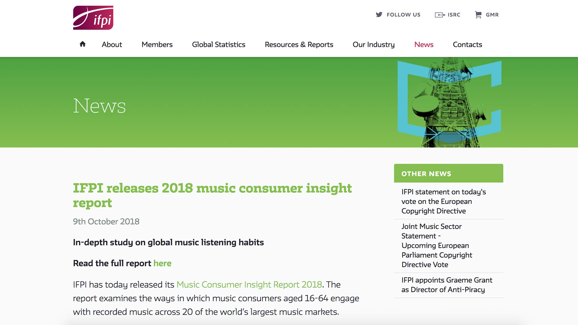 Fairness Rocks News IFPI releases 2018 music consumer insight report
