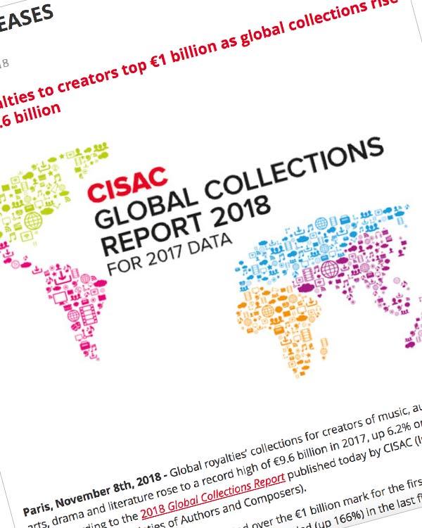 Fairness Rocks News Digital royalties to creators top €1 billion as global collections rise 6.2% to €9.6 billion