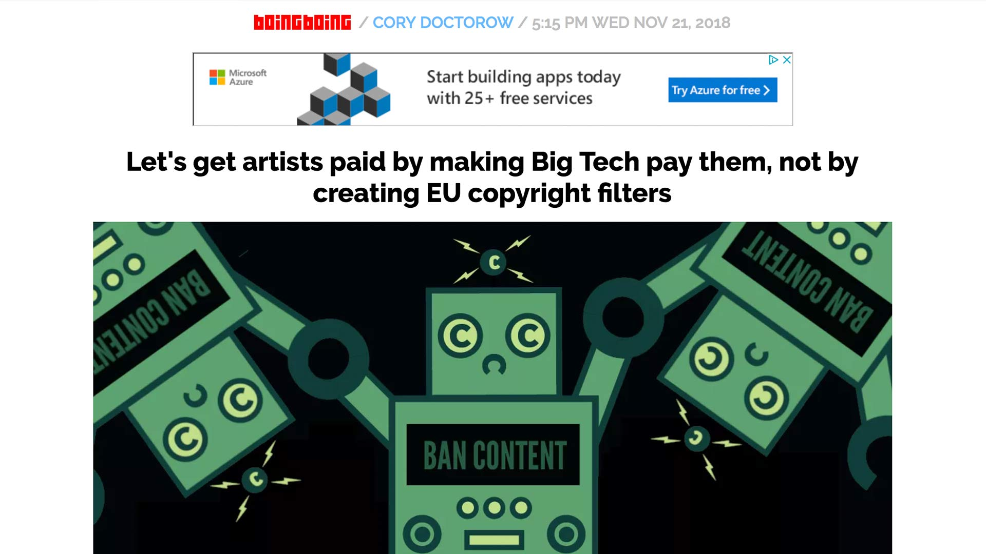 Fairness Rocks News Let's get artists paid by making Big Tech pay them, not by creating EU copyright filters