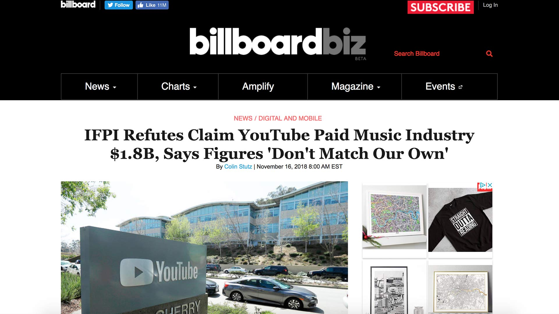 Fairness Rocks News IFPI Refutes Claim YouTube Paid Music Industry $1.8B, Says Figures 'Don't Match Our Own'
