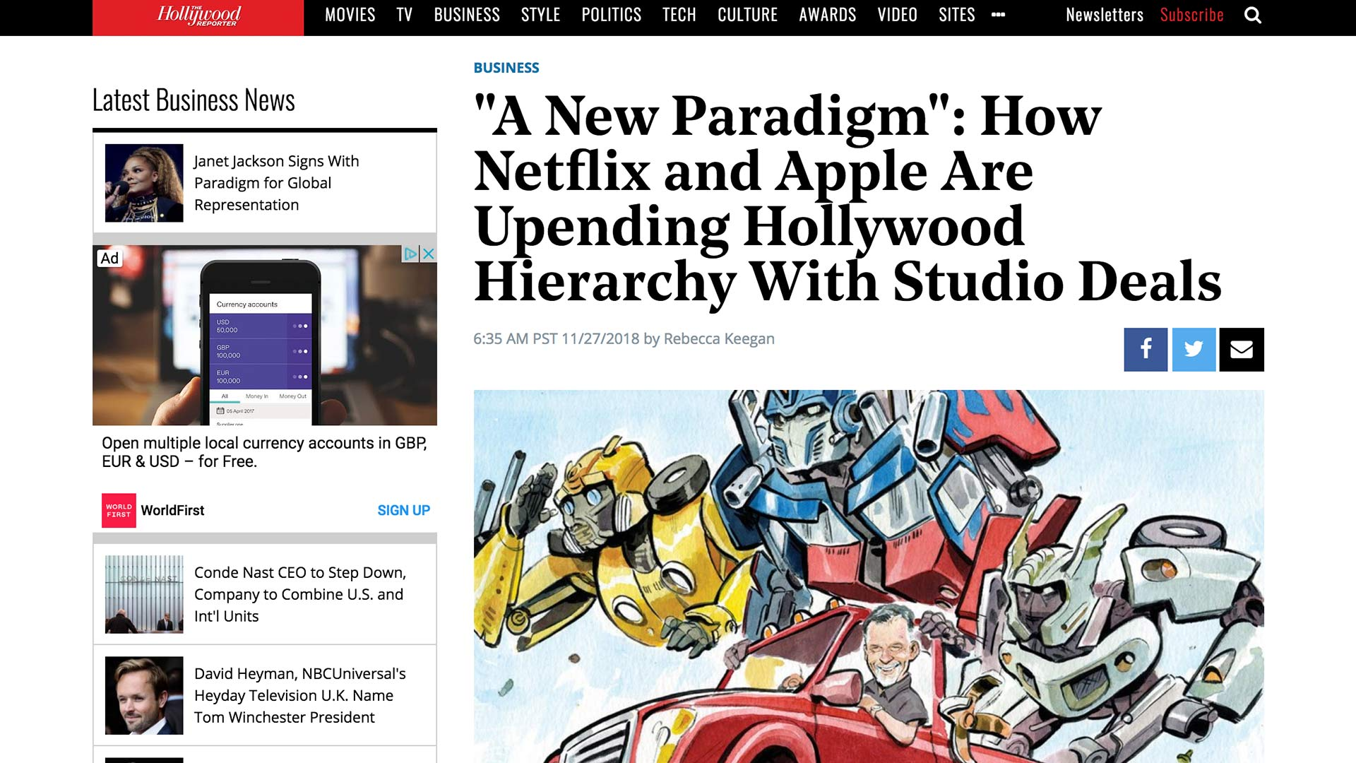 """Fairness Rocks News """"A New Paradigm"""": How Netflix and Apple Are Upending Hollywood Hierarchy With Studio Deals"""