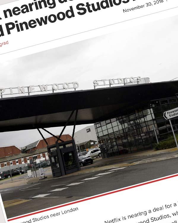 Fairness Rocks News Netflix nearing deal to lease famed Pinewood Studios in UK