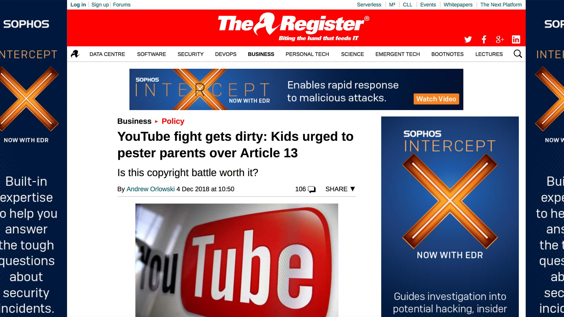 Fairness Rocks News YouTube fight gets dirty: Kids urged to pester parents over Article 13
