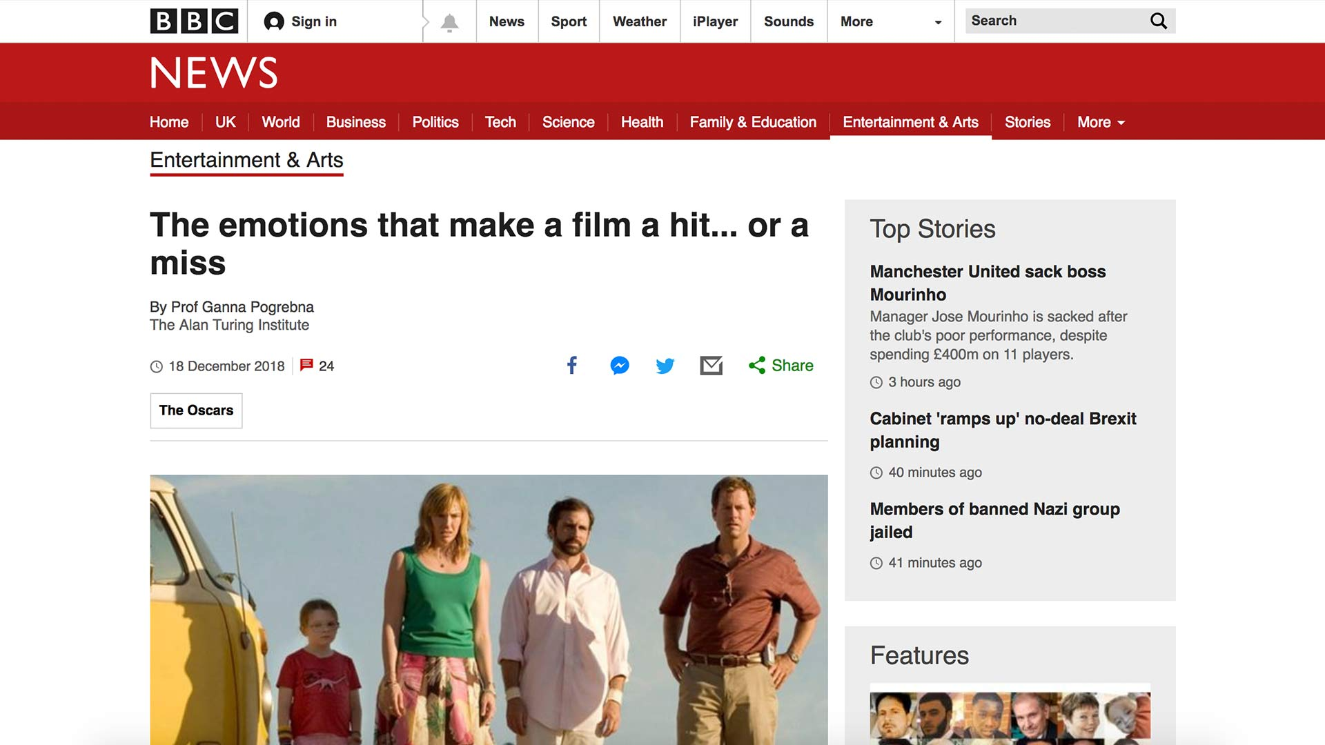 Fairness Rocks News The emotions that make a film a hit… or a miss