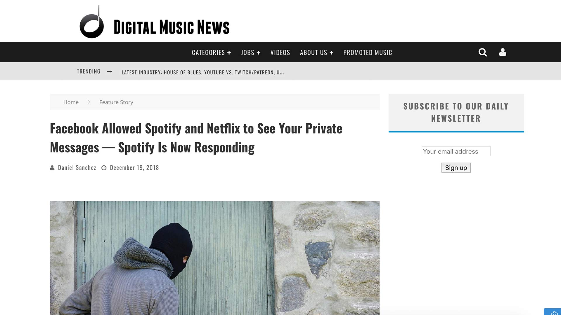 Fairness Rocks | Facebook Allowed Spotify and Netflix to See Your