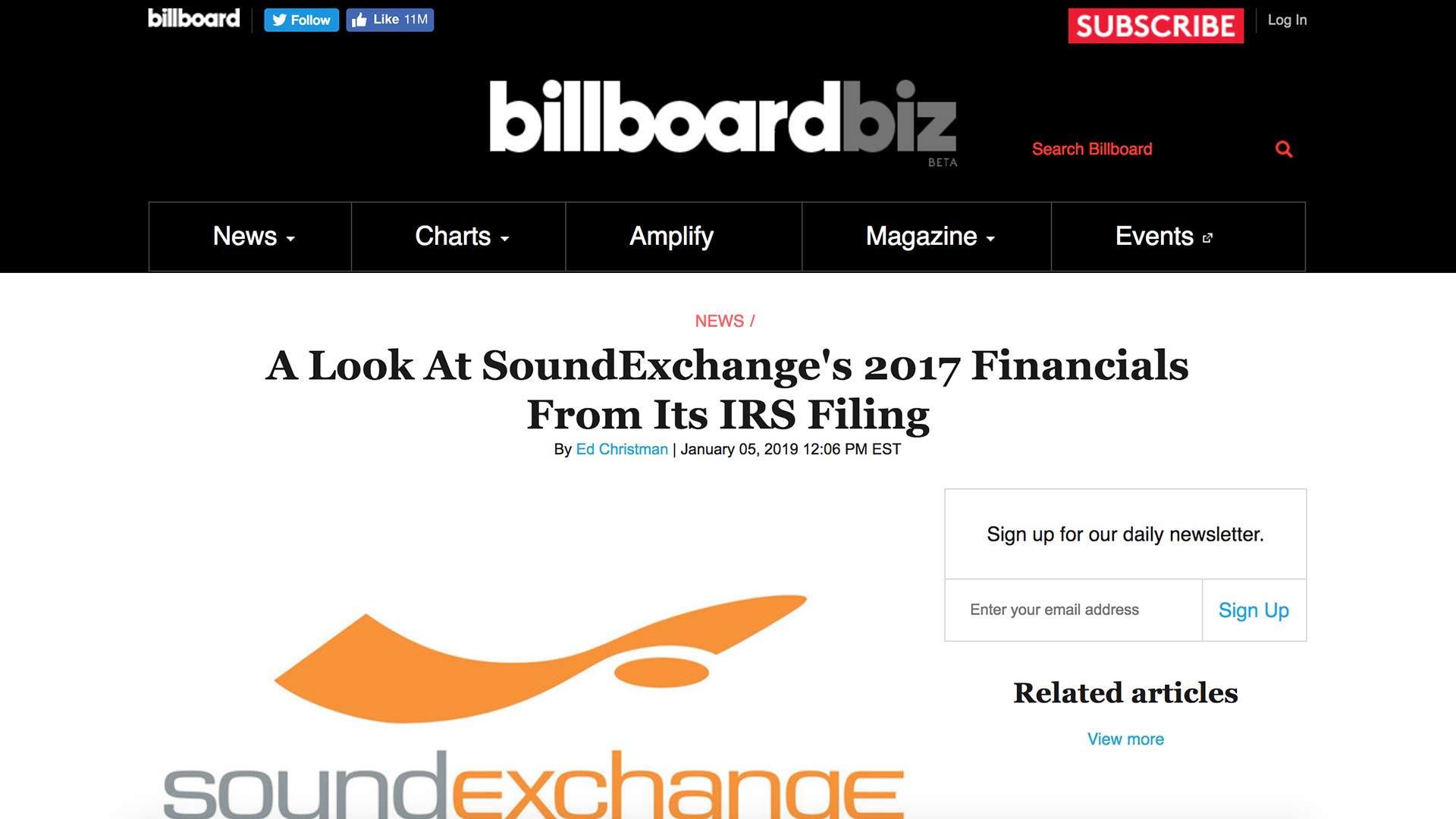 Fairness Rocks News A Look At SoundExchange's 2017 Financials From Its IRS Filing