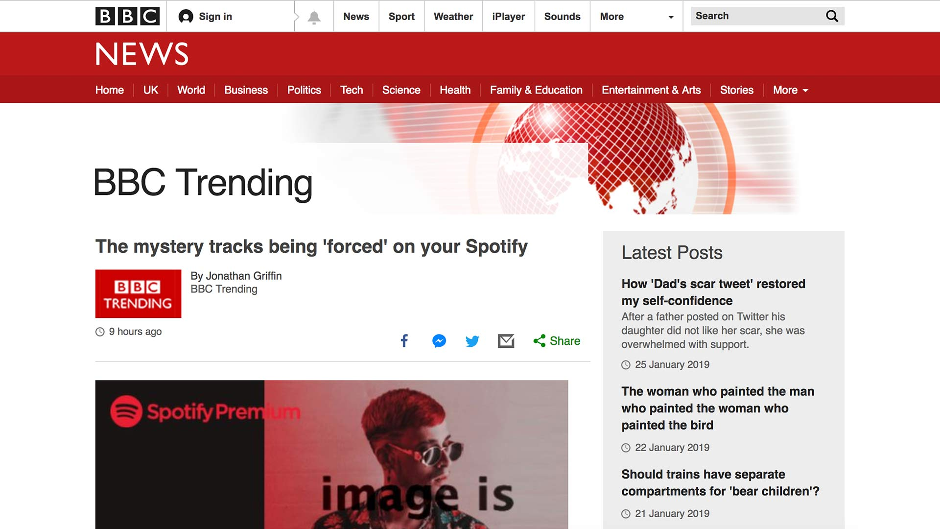 Fairness Rocks News The mystery tracks being 'forced' on your Spotify