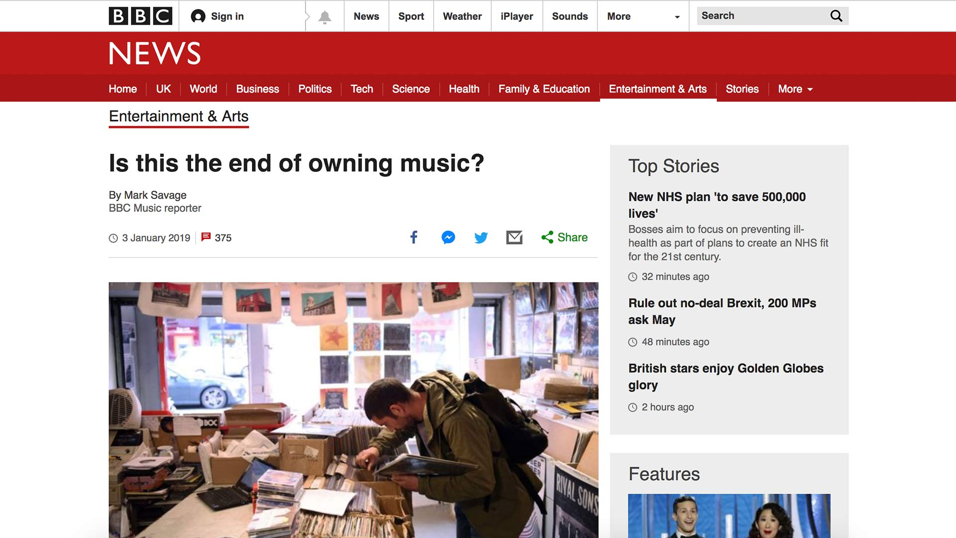Fairness Rocks News Is this the end of owning music?