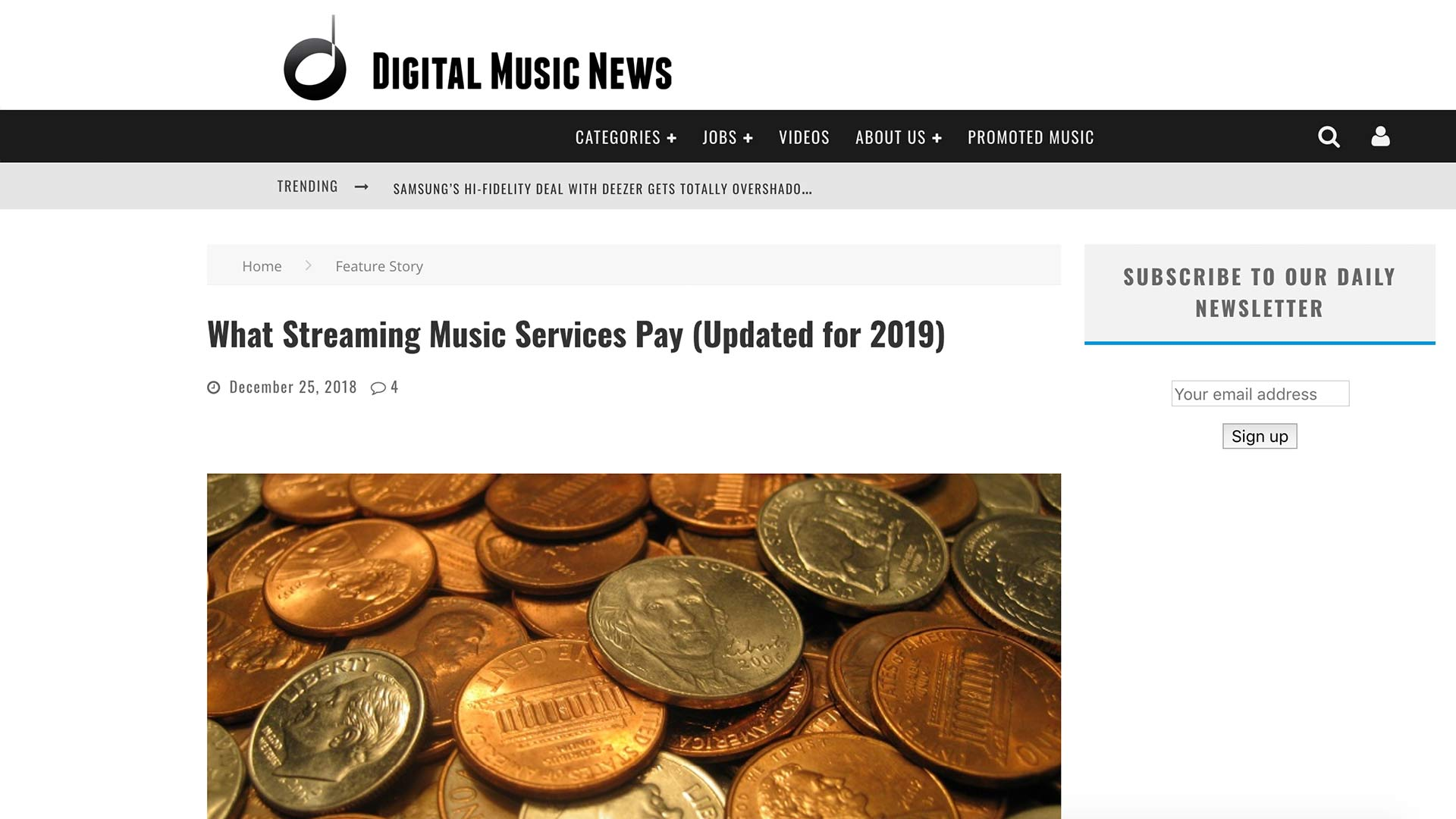 Fairness Rocks News What Streaming Music Services Pay (Updated for 2019)